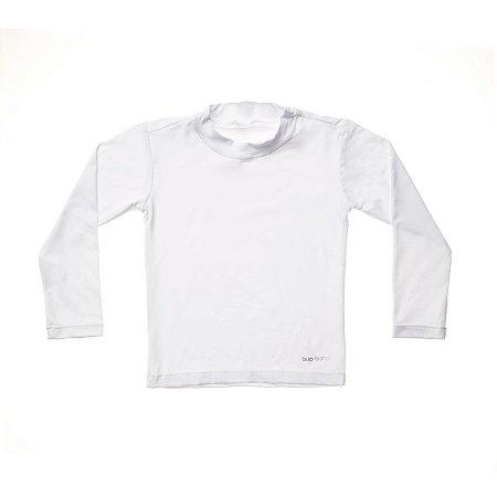 Camisa de Banho Manga Longa Branca - BupBaby