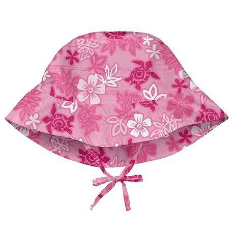 Chapéu Estampado de Banho FPS 50+ - Havai Pink - Iplay