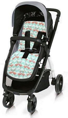 Almofada para Carrinho de Bebê - Flamingo - Clingo