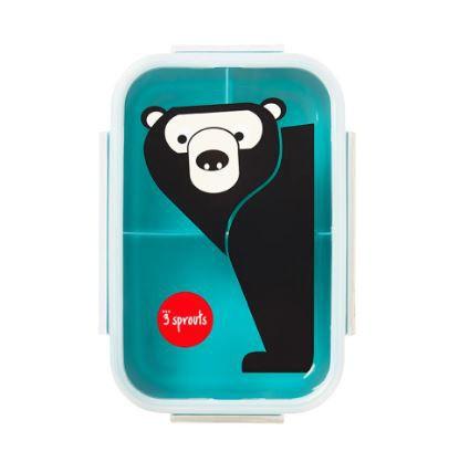 Pote Bento Box Urso 3 Sprouts