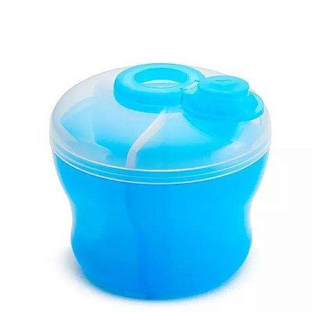 Pote Porta Leite 266ml Viagem - Munchkin Azul
