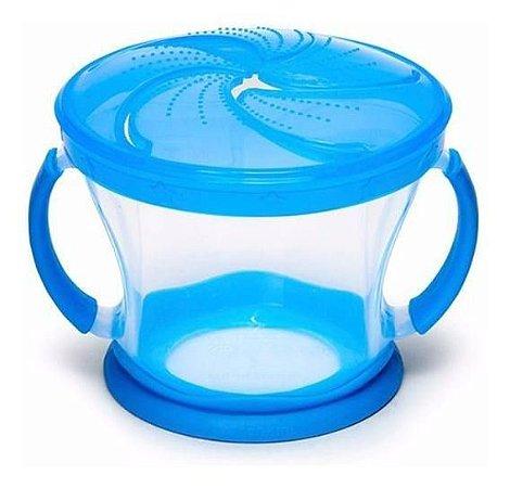 Pote para Biscoitos Viagem - Munchkin Azul