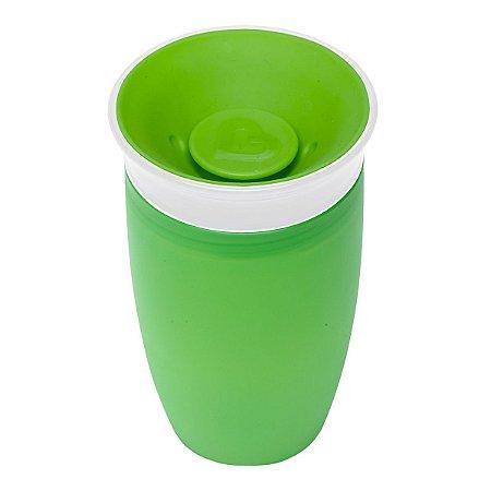 Copo 360 Antivazamento - Plástico 296 Ml - Munchkin Verde