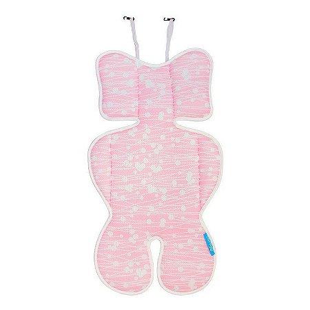 Almofada Para Bebê Conforto Rosa - Clingo