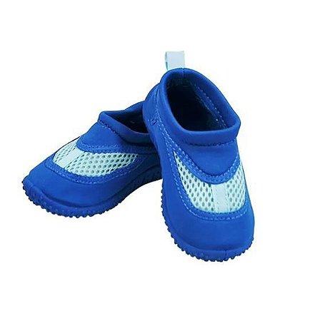 Sapato de Verão Neoprene Infantil Azul Escuro- Iplay