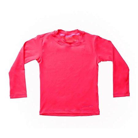 Camisa de Banho Manga Longa Pink - BupBaby