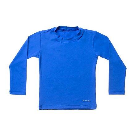 Camisa de Banho Manga Longa Azul Escuro - BupBaby