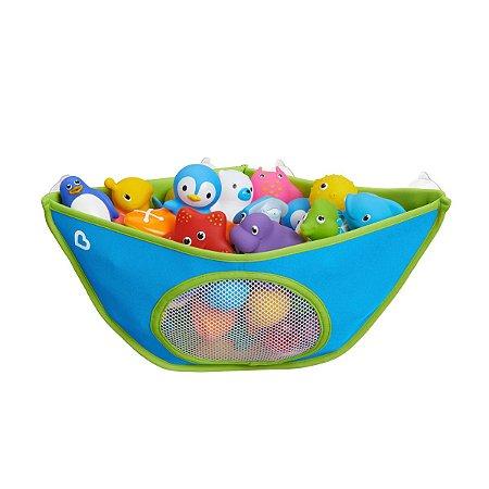 Cesta Organizadora de Brinquedos do Banho Azul - Munchkin