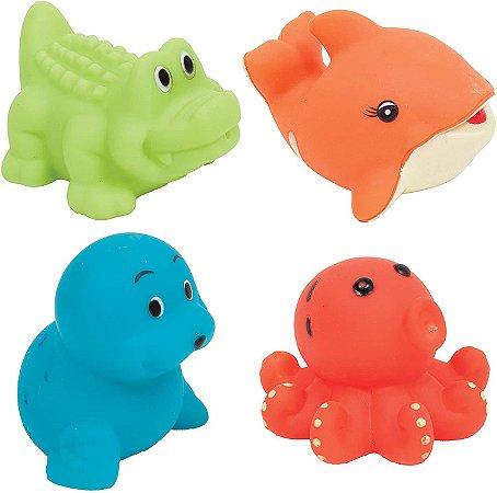 Bichinhos para Banho Animais Aquáticos Buba