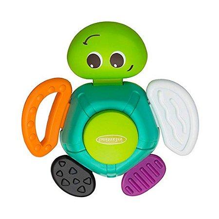 Chocalho Mordedor Tartaruga Infantino