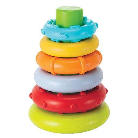 Brinquedo Interativo Argolas de Empilhar Infantino
