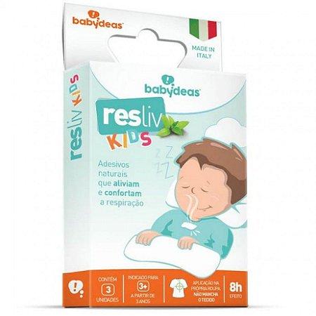 Adesivo Resliv Kids com 3 unidades - Babydeas
