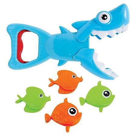 Brinquedo Tubarão pega Peixinhos - Buba