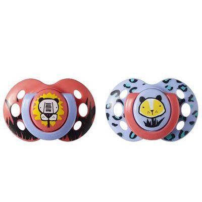 Chupeta Fun Style 6-18Meses Tommee Tippee - 2 unidades