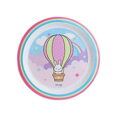 Prato Infantil Balão Clingo