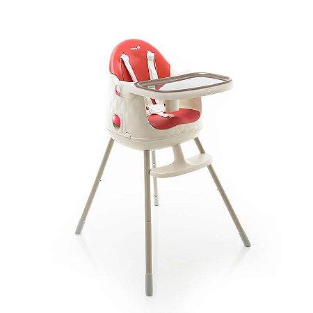 Cadeira de Refeição Jelly Safety 1ST Vermelho