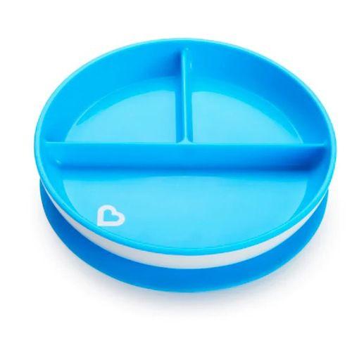 Prato com Ventosa Azul Munchkin