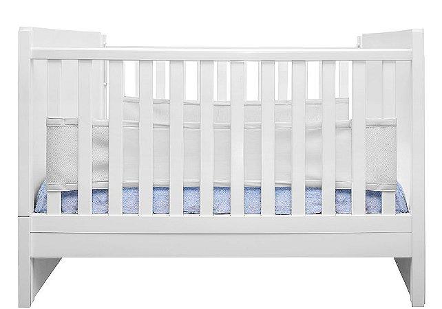 Tela Protetora de Berço Air Baby Branco Kababy