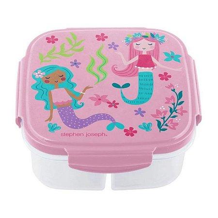 Pote Bento Box com Compressa de Gelo Sereia - Stephen Joseph