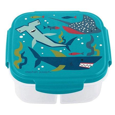 Pote Bento Box com Compressa de Gelo Tubarão - Stephen Joseph