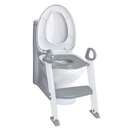 Redutor de Assento Sanitário com Degrau - Clingo Cinza