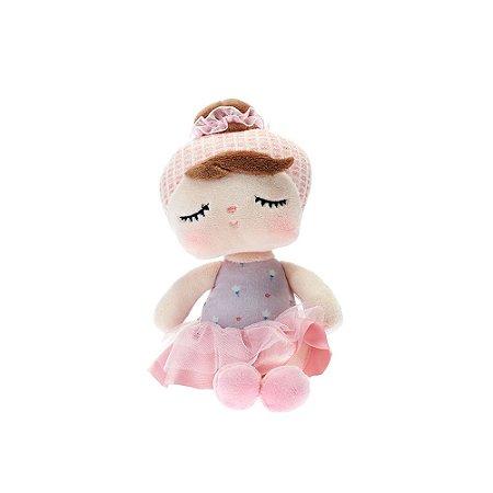 Boneca Mini Doll Angela Lai Ballet Rosa 20cm Metoo