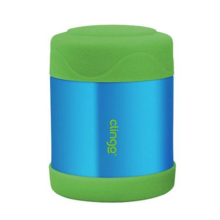 Pote Térmico Inox Azul Verde Clingo