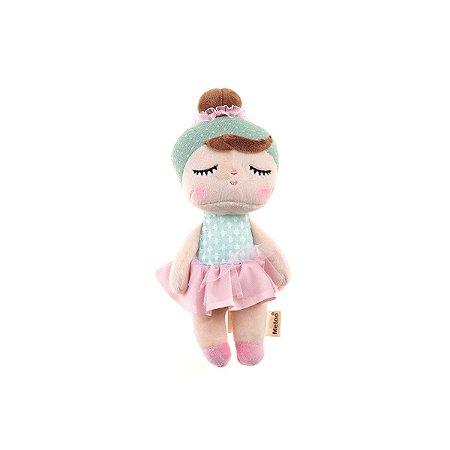 Boneca Mini Doll Angela Lai Ballet Verde 20cm Metoo