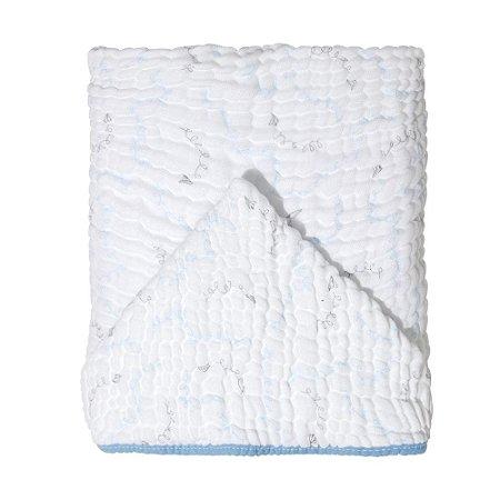 Toalha de Banho Soft c/ Capuz 115x85 Mami Avião de Papel