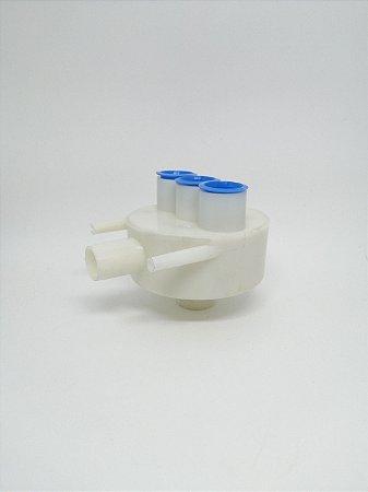 Caixa de esgoto selada branca - Dabi