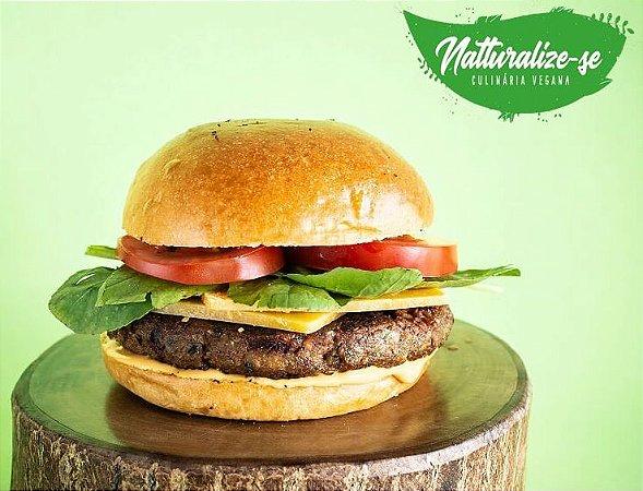 Hambúrguer de Soja com Chia e Legumes