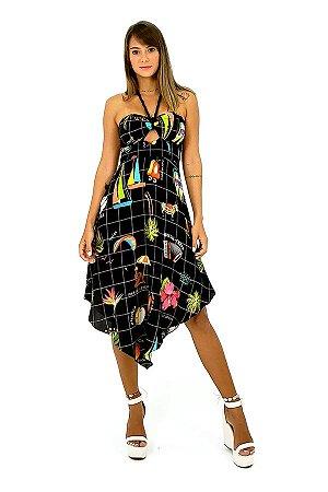Vestido Flor Da Pele - Leli