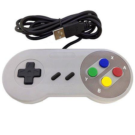 Controle USB Super Nintendo SNES