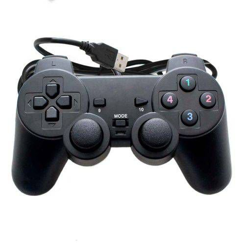 Controle USB PC PlayStation PS