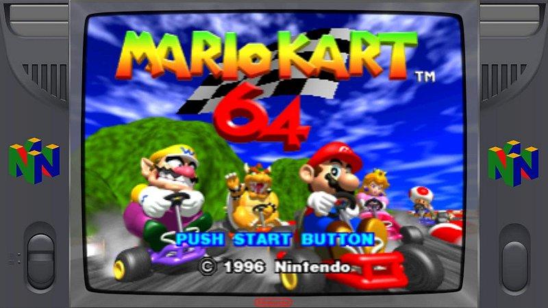 Pacote de roms Nintendo 64 (N64) 300 Jogos
