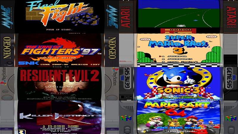 Pacote de roms completo 35 sistemas mais de 20.000 jogos completos Retro Tv Box