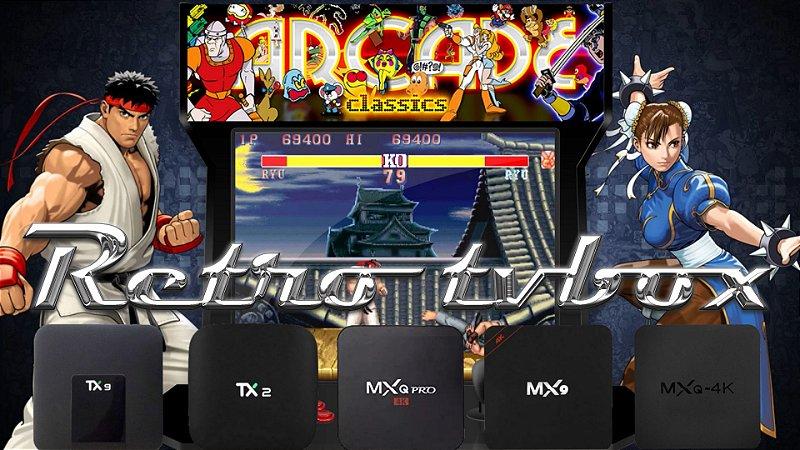 Cartão 32gb Com RecalBox para Tv Box MXQ Pro 4K MX9 5G TX2 TX6 Mibox Tv Box com processador RockChip