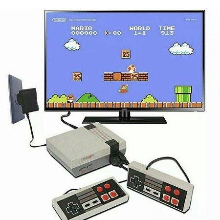Video Game Nintendo 8bits Mini Console Com 620 Jogos + 2 Controles