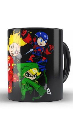 Caneca Geekz Plumber  e Mega Man - Loja Nerd e Geek - Presentes Criativos