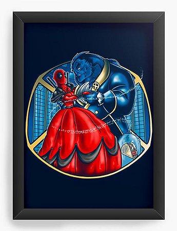 Quadro Decorativo A4 (33X24) Geekz Red Hero - Loja Nerd e Geek - Presentes Criativos