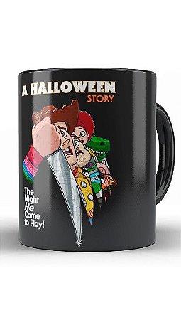 Caneca  Geekz A hallowenn Story - Loja Nerd e Geek - Presentes Criativos