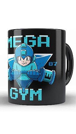 Caneca Geekz Mega Man GYM - Loja Nerd e Geek - Presentes Criativos