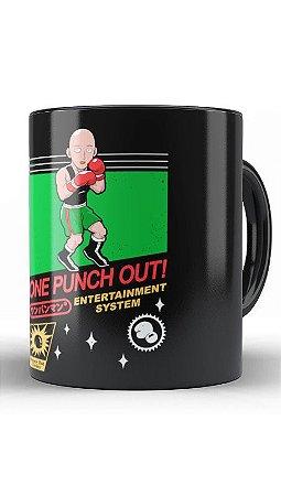 Caneca Geekz One Punch out! - Loja Nerd e Geek - Presentes Criativos
