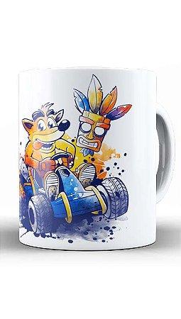 Caneca  Geekz Crash Bandicoot - Loja Nerd e Geek - Presentes Criativos