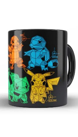 Caneca Geekz Pokemon - Loja Nerd e Geek - Presentes Criativos