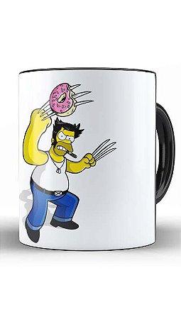 Caneca Geekz Homer X - Loja Nerd e Geek - Presentes Criativos
