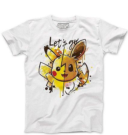 Camiseta Masculina Pikachu - Loja Nerd e Geek - Presentes Criativos