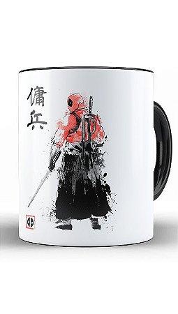Caneca Geekz Samurai Red Man - Loja Nerd e Geek - Presentes Criativos