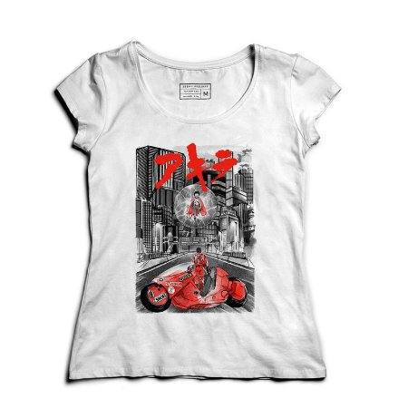 Camiseta Feminina Akira - Loja Nerd e Geek - Presentes Criativos
