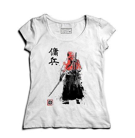 Camiseta Feminina Ninja Mascara - Loja Nerd e Geek - Presentes Criativos